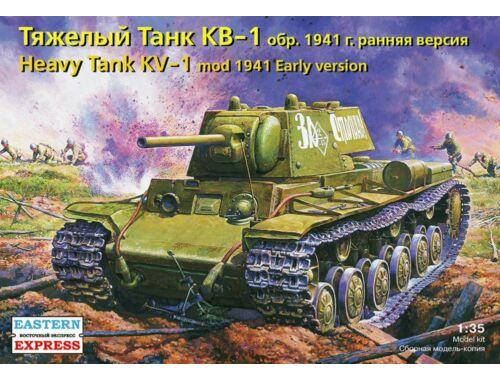 Eastern Express KV-1 Russian heavy tank,Model 1941,early version 1:35 (35084)
