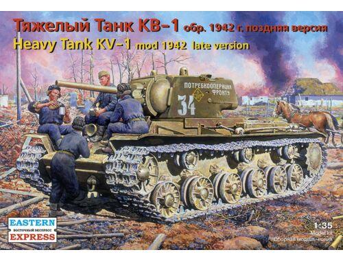 Eastern Express Russ heavy tank KV-1 (mod. 1942), late 1:35 (35086)