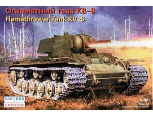 Eastern Express KV-8 Russian heavy flamethrower tank 1:35 (35087)