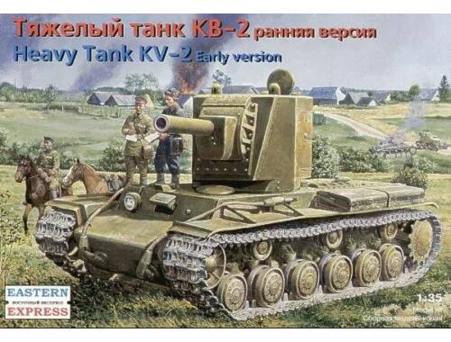 Eastern Express KV-2 Russian heavy tank,early version 1:35 (35089)