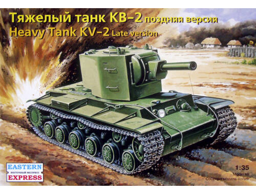Eastern Express Russ heavy tank KV-2 (mod.1941) late 1:35 (35090)