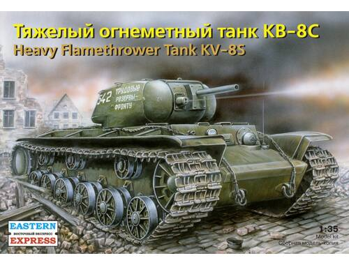 Eastern Express Russ heavy flamethrower tank KV-8S 1:35 (35101)