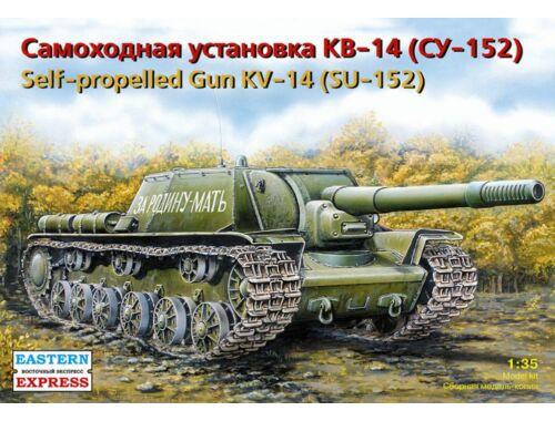 Eastern Express SU-152 Russian 15.2cm antitank self- propelled gun 1:35 (35103)
