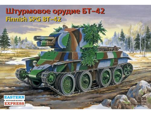 Eastern Express Fin assault gun BT-42 on BT-7 chassis 1:35 (35116)