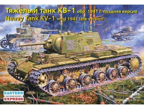Eastern Express KV-1 Russian heavy tank, model 1941,late version 1:35 (35119)