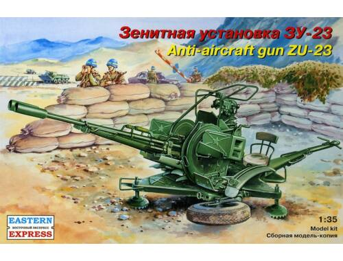 Eastern Express ZU-23-2 Russian anti-aircraft gun 1:35 (35135)