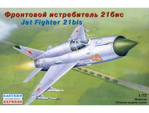Eastern Express MiG-21 bis Russ jet fighter 1:72 (72105)