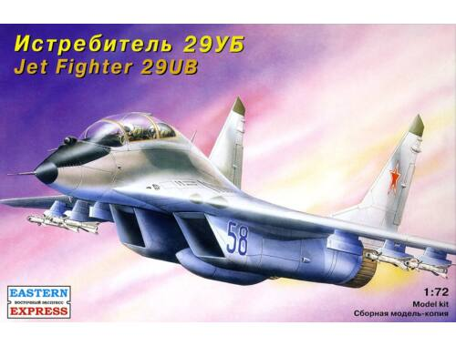 Eastern Express MiG-29 UB Russ training jet fighter 1:72 (72107)