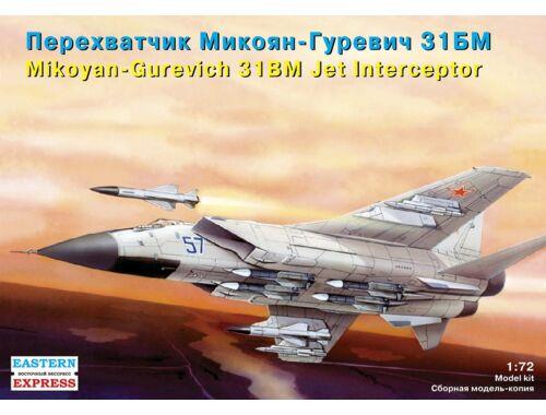 "Eastern Express MiG-31 BM ""Foxhound"" Russ jet intercep. 1:72 (72116)"