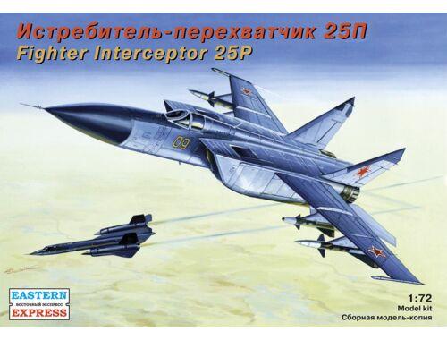 Eastern Express MiG-25 P Russ jet fighter-interceptor 1:72 (72123)