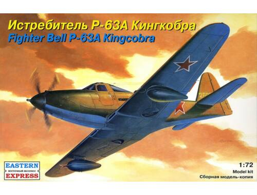 """Eastern Express Bell P-63 """"Kingcobra"""" American fighter 1:72 (72140)"""