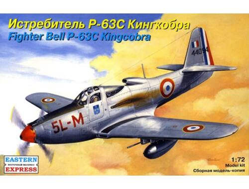 """Eastern Express Bell P-63C """"Kingcobra"""" American fighter 1:72 (72141)"""
