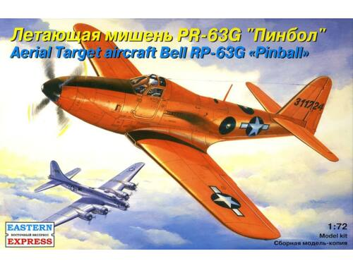 "Eastern Express Bell PR-63G ""Pinball"" aerial target airc 1:72 (72142)"
