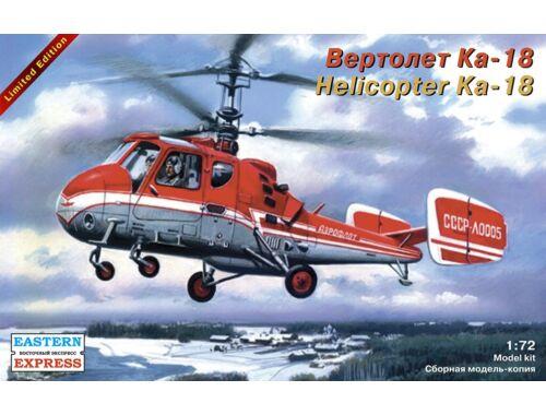 Eastern Express Ka-18 Russ multipurpose helicopter 1:72 (72146)