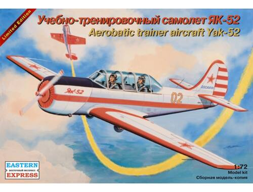 Eastern Express Yak-52 Russ aerobatics training aircraft 1:72 (72147)