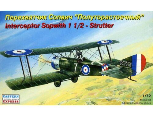 "Eastern Express Sopwith ""1 1/2 Strutter"" interceptor 1:72 (72157)"