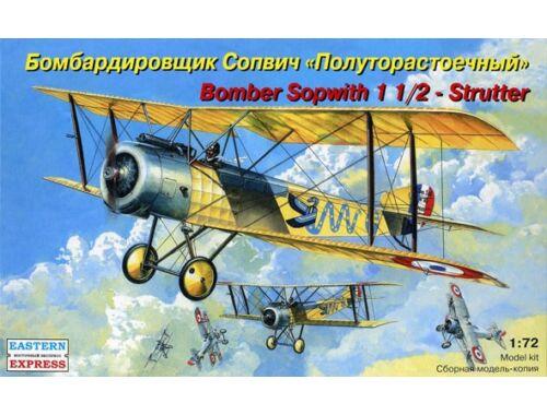 "Eastern Express Sopwith ""1 1/2 Strutter"" bomber 1:72 (72158)"