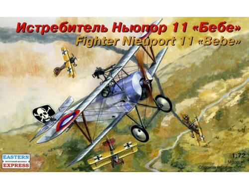 """Eastern Express Nieuport 11 """"Bebe"""" French fighter 1:72 (72161)"""