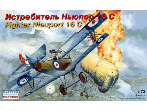 Eastern Express Nieuport 16 C French fighter 1:72 (72162)
