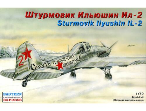 Eastern Express Il-2 Russian ground-attack aircraft 1:72 (72214)