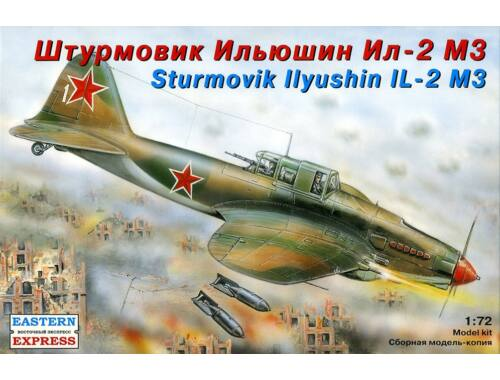 Eastern Express Il-2 M3 Russian ground attack aircraft 1:72 (72216)
