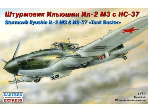 Eastern Express Il-2 M3 ground attack airc. with NS-37 1:72 (72217)