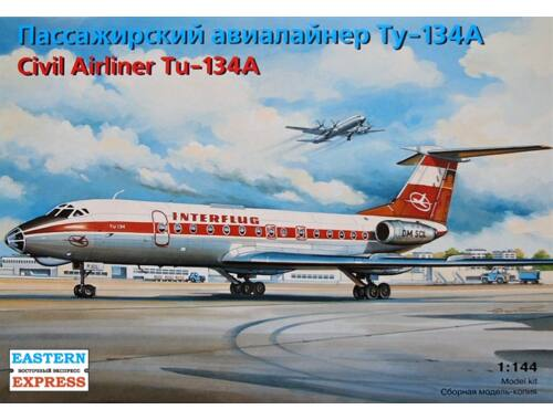 Eastern Express Tupolev Tu-134A Russian short / medium-haul airliner, Interflug (14416)