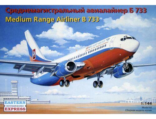 Eastern Express Boeing 737-400 Transaero Airlines 1:144 (14423)