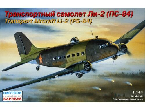 Eastern Express Li-2 Russian military transport aircraft 1:144 (14430)