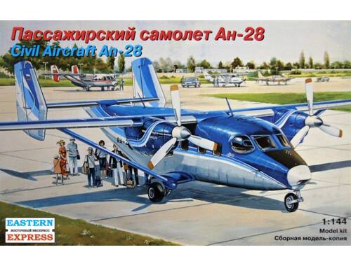 Eastern Express An-28 Region Avia Airlines 1:144 (14436)