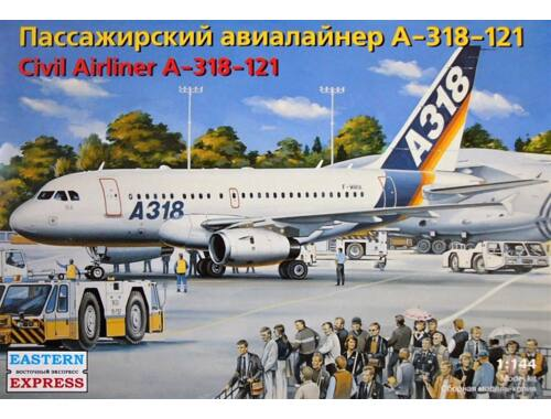 Eastern Express Airbus A318-121 1:144 (14441)