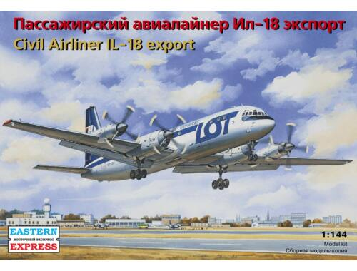 Eastern Express Il-18 LOT Polish Airlines 1:144 (14465)