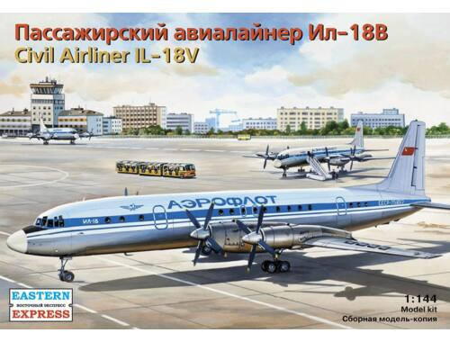 Eastern Express Il-18V Aeroflot / Czechoslovak Airlines 1:144 (14466)