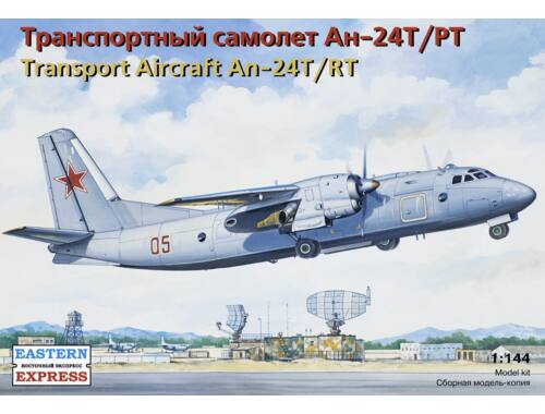 Eastern Express An-24T/RT Russ transport aircraft 1:144 (14468)