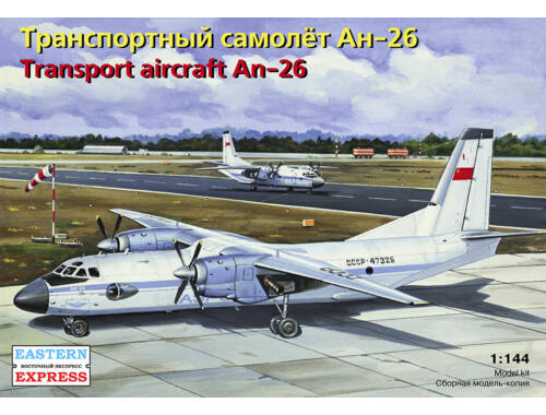 Eastern Express Antonov An-26 Russian transport aircraft 1:144 (14482)