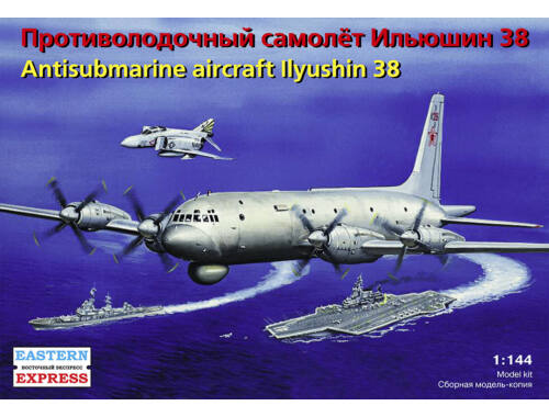 Eastern Express Ilyushin IL-38 Russian anti-submarine 1:144 (14490)