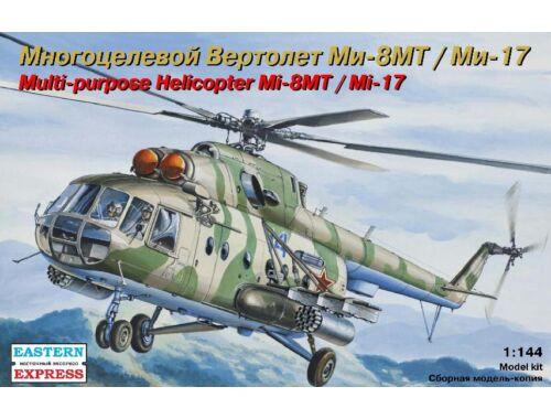 Eastern Express Mil Mi-8MT/Mi-17 heli. Air Force/Emercom 1:144 (14501)