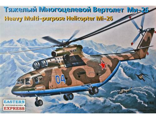 Eastern Express Mil Mi-26 heli. Air Force/Emercom Russ. 1:144 (14502)