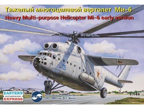 Eastern Express Mil Mi-6 Russian heavy multipurpose heli early version 1:144 (14506)