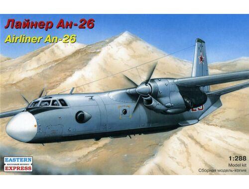 Eastern Express An-26 Russ military transport aircraft 1:288 (28802)