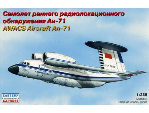 Eastern Express An-71 Russian AWACS aircraft 1:288 (28805)
