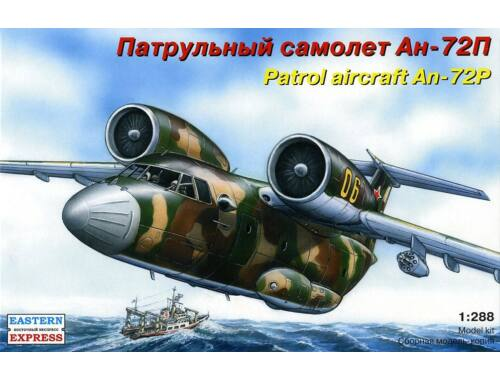 Eastern Express An-72P Russian patrol aircraft 1:288 (28808)