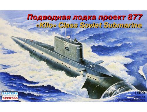 Eastern Express Alfa class Russ nuclear pow submarine 1:400 (40007)