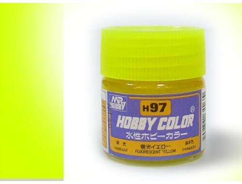 Mr.Hobby Aqueous Hobby Color H97 FLUORESCENT YELLOW (fényes)