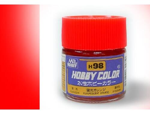 Mr.Hobby Aqueous Hobby Color H98 FLUORESCENT ORANGE (fényes)