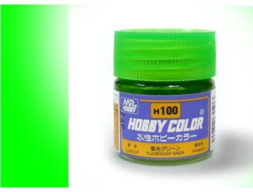 Mr.Hobby Aqueous Hobby Color H100 FLUORESCENT GREEN (fényes)