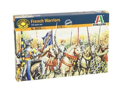 Italeri French Warriors - 100 years War 1:72 (6026)