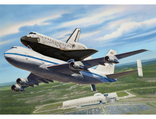 Revell Boeing 747 SCA + Space Shuttle 1:144 (4863)