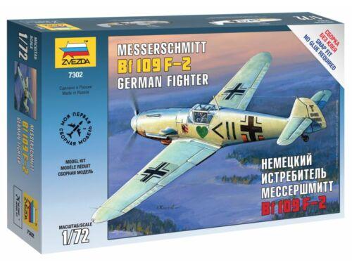 Zvezda Messerschmitt B-109 F2 1:72 (7302)
