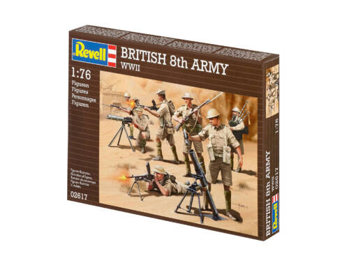 Revell British 8th Army WWII 1:76 (2617)